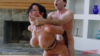ANALIZED - Veronica Avluv's MILF Ass Double Stuffed With Cock