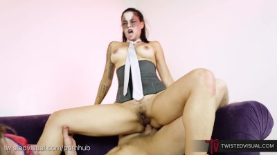 TwistedVisual.com - Asian MILF Rock Star Butt Fucked and Gaped