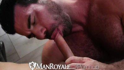 ManRoyale - Billy Santoro Fucks a Twink at the Bath House