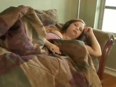 Sleeping BBW Teen Screwed Hard