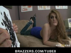 Hot young PS Faye Reagan fucks doctor during her breast exam