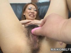 Hairy Pussy Japanese MILF Keiko Hattori Sexing