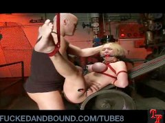 Tied Up and Taught Lessons in Manners