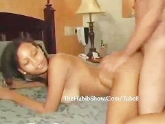 Young Dominican hoe gets that pussy banged like a drum