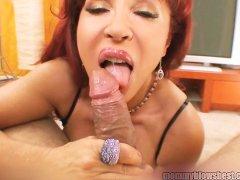 - Hot Redhead Latina Mom...