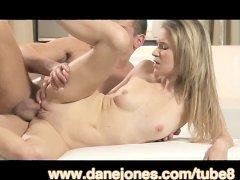 DaneJones Passionate young blonde girl making love