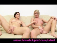 FemaleAgent  Let s wank together