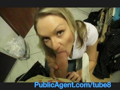 PublicAgent Nicole fucks my big cock to pay for a flat