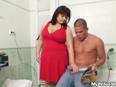 - Wife catches her man f...
