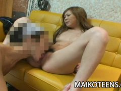Sweet Petite Nippon Teen Rika Watanabe First Time Fucked