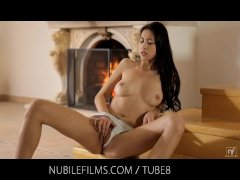 Nubile Films   She loves to feel her pussy gush with cum