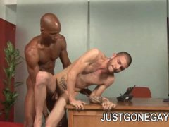 Billy Long And Tristan Mathews   A BreathTaking Gay Interracial Fucking