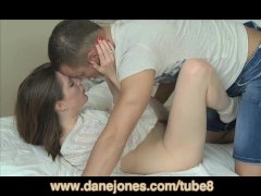 DaneJones English girl gets holiday fuck from handsome Euro lover