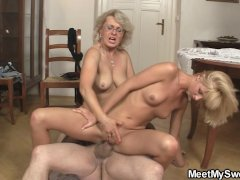 - He finds his mom and d...