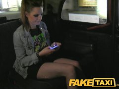 FakeTaxi Groupie does anal and deepthroat blowjob