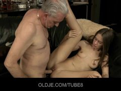 - Teeny babe having anal...