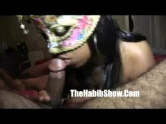 1st time amatuer anal stripper makes me nut