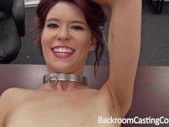 Slave Chokes Herself t... video
