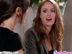Sweetheart Sinn Sage Lesbian Ass Licking Redhead