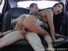 Wicked   Backseat anal with Asa Akira