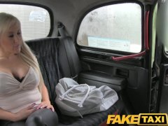FakeTaxi Big tits blonde has hot sex with taxi driver