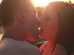 Happy Porn Valentine   Sandy   Robert: Rooftop Romance kozodirky cz