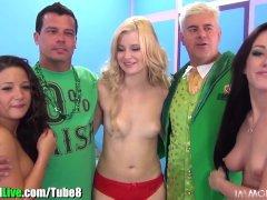 St Patrick s pornstar orgy party  Vol 6