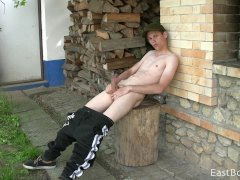 OUTDOOR WEBCAM   HORNY VILLAGE BOY
