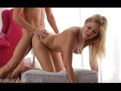 Nubile Films - Romantic encounter leads to hot facial