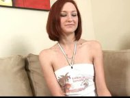 Redhead Nubile Kyra gives...