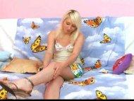 Horny blonde cutie hardco...
