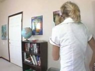 Nice Nerdy blonde schoolg...