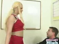 Hot ass Tatiana playing w...