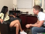 latin teen getting her pu...