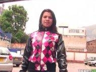 Latina hottie Andrea Azul...