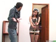 hot latina maid Kelen Ari...