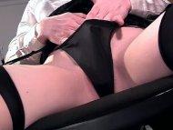 Closeup masturbation in l...