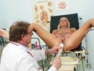Blonde Klara getting puss...
