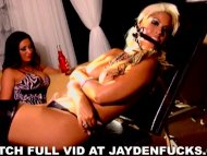 Jayden and Bridgette Tied...