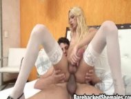 Hot transexual banging hi...
