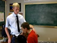 Teacher wants that twink ...
