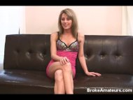 Amateur girl porn casting...
