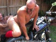 Fisting Motorcycle Men