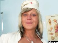 Filthy nurse milf Nada fu...