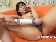 A Shy Japanese MILF Megum...