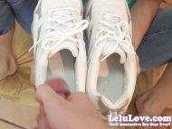 Lelu LovePOV Footjob Cum ...