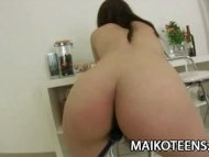 Teen Japanese Ayaka Oda getting a helluva foreplay view on tube8.com tube online.