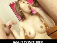 Horny asian chick Yui Mis...