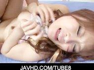 Gorgeous asian babe Misa ...