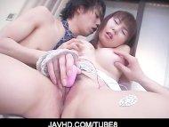 Busty asian babe Yuuna Ak...